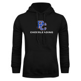 College Black Fleece Hoodie-Cheerleading