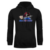 College Black Fleece Hoodie-Mascot