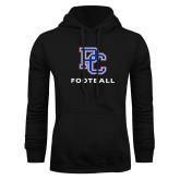 College Black Fleece Hoodie-Football