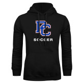 College Black Fleece Hoodie-Soccer