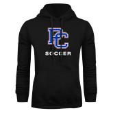 College Black Fleece Hoodie-Soccer