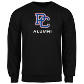 College Black Fleece Crew-Alumni