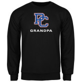 College Black Fleece Crew-Grandpa