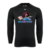Under Armour Black Long Sleeve Tech Tee-Mascot