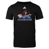 Adidas Black Logo T Shirt-Mascot
