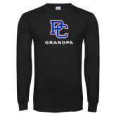 Black Long Sleeve T Shirt-Grandpa