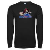 Black Long Sleeve T Shirt-Mascot