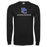 Presbyterian Black Long Sleeve T Shirt-Cheerleading