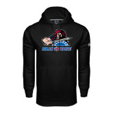 Under Armour Black Performance Sweats Team Hood-Mascot