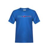 Youth Royal Blue T Shirt-Blue Hose
