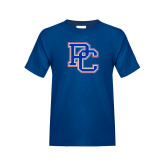 College Youth Royal T Shirt-PC