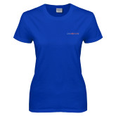 Ladies Royal T Shirt-Blue Hose