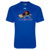 Presbyterian Under Armour Royal Tech Tee-Mascot