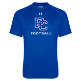 Presbyterian Under Armour Royal Tech Tee-Football