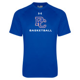 Presbyterian Under Armour Royal Tech Tee-Basketball