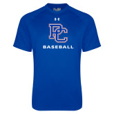 Presbyterian Under Armour Royal Tech Tee-Baseball