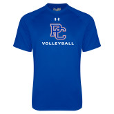 Presbyterian Under Armour Royal Tech Tee-Volleyball