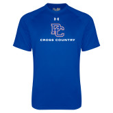 Presbyterian Under Armour Royal Tech Tee-Cross Country