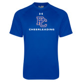 Presbyterian Under Armour Royal Tech Tee-Cheerleading