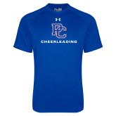Under Armour Royal Tech Tee-Cheerleading