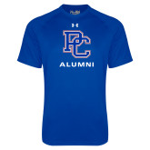 Presbyterian Under Armour Royal Tech Tee-Alumni