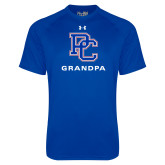Presbyterian Under Armour Royal Tech Tee-Grandpa