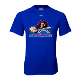 Under Armour Royal Tech Tee-Mascot