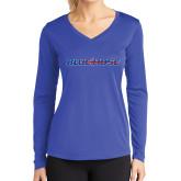 Ladies Syntrel Performance Royal Longsleeve Shirt-Blue Hose