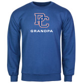 College Royal Fleece Crew-Grandpa