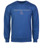 College Royal Fleece Crew-Presbyterian College w PC