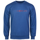 College Royal Fleece Crew-Blue Hose