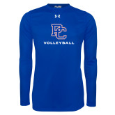 Presbyterian Under Armour Royal Long Sleeve Tech Tee-Volleyball