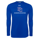 Under Armour Royal Long Sleeve Tech Tee-Cheerleading