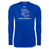 Presbyterian Under Armour Royal Long Sleeve Tech Tee-Softball