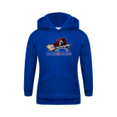 College Youth Royal Fleece Hoodie-Mascot