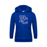College Youth Royal Fleece Hoodie-PC Distressed