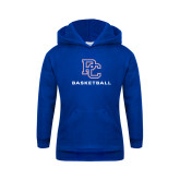 College Youth Royal Fleece Hoodie-Basketball