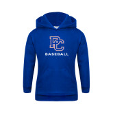 College Youth Royal Fleece Hoodie-Baseball