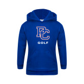 College Youth Royal Fleece Hoodie-Golf