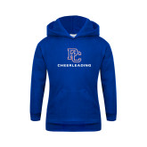 Youth Royal Fleece Hood-Cheerleading