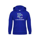 Youth Royal Fleece Hood-Lacrosse