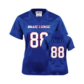 College Ladies Royal Replica Football Jersey-#88