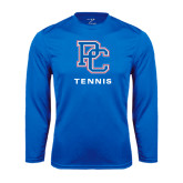 Syntrel Performance Royal Longsleeve Shirt-Tennis