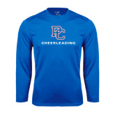 Syntrel Performance Royal Longsleeve Shirt-Cheerleading
