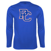 College Performance Royal Longsleeve Shirt-PC