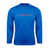 Syntrel Performance Royal Longsleeve Shirt-Blue Hose