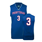 College Replica Royal Adult Basketball Jersey-#3