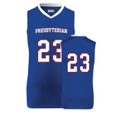 College Replica Royal Adult Basketball Jersey-#23