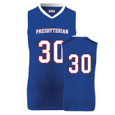 College Replica Royal Adult Basketball Jersey-#30