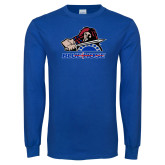 Presbyterian Royal Long Sleeve T Shirt-Mascot